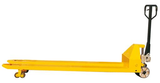 Фото - Гидравлическая тележка рокла ACL20-1.5 удлиненные вилы