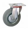 Колесо промышленное поворотное - Поворотная колесная опора, платформенное крепление SC 63f+ Европейский стандарт