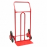 Тележка лестничная (НТ 7000), грузоподъемность - 120 кг. Два блока по 3 колеса диаметром 160 мм.