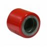 Ролик для гидравлической тележки, полиуретановый контактный слой, стальной обод (LR93+)