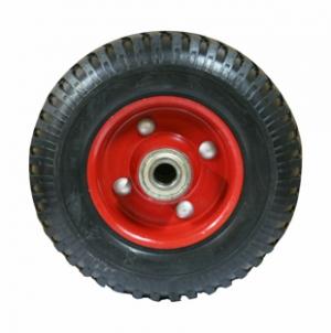 Колесо на литой резине, симметричное R 80