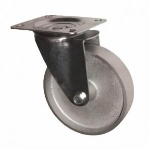 Колесо промышленное поворотное -Поворотная колесная опора, стальной цельнолитой ролик SCss 25