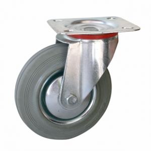 Колесо промышленное поворотное - Поворотная колесная опора, платформенное крепление SC 55f+ Европейский стандарт