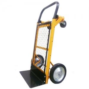 Тележка-трансформер (НТ 1500), грузоподъемность - 50 кг. Колеса на черной литой резине 185 мм.