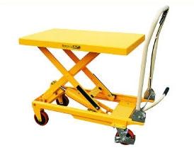 Тележка-стол с гидравлическим приводом подъема TF 50A. Грузоподъемность 500 кг. Максимальная высота подъема 880 мм. Размер платформы 850х500 мм