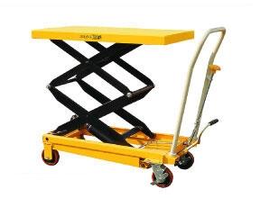 Тележка-стол с гидравлическим приводом подъема TFD 35. Грузоподъемность 350 кг. Максимальная высота подъема 1300 мм. Размер платформы 910х500 мм
