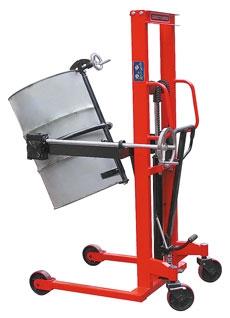 Бочкокантователь гидравлический YTC3. Грузоподъемность 350 кг. Позволяет осуществлять не только подъем и перемещение бочки, но и выполнять наклон (вращение) вокруг поперечной оси.