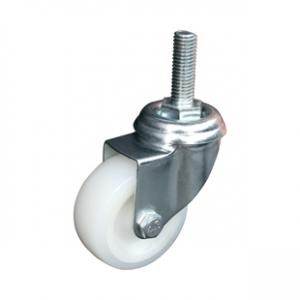Колесо аппаратное поворотное - поворотная колесная опора, нейлон, болтовое крепление SCtn 25