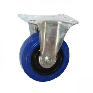 Колесо промышленное неповоротное - Неповоротная колесная опора, платформенное крепление FCL 46
