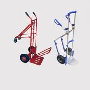 Тележки 2-х колесные. Тележки этих типов используются для перемещения как габаритных так и негабаритных грузов и товаров.