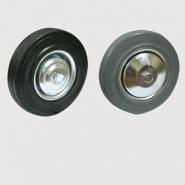 Колеса промышленные - шинка черная, серая и синяя резина