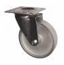 Колесо промышленное поворотное - Поворотная колесная опора стальной цельнолитой ролик SCss 55