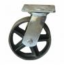 Колесо большегрузное поворотное цельнометаллическое-Поворотная колесная опора, большегрузная SCs 63