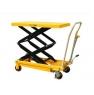 Тележка-стол с гидравлическим приводом подъема TFD 80. Грузоподъемность 800 кг. Максимальная высота подъема 1500 мм. Размер платформы 1220х610 мм