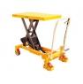 Тележка-стол с гидравлическим приводом подъема TF 75. Грузоподъемность 750 кг. Максимальная высота подъема 900 мм. Размер платформы 1000х510 мм