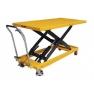 Тележка-стол с гидравлическим приводом подъема TG 50. Грузоподъемность 500 кг. Максимальная высота подъема 915 мм. Размер платформы 1600х810 мм