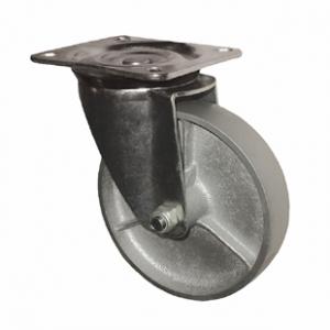 Колесо поворотное промышленное усиленное-Поворотная колесная опора, стальной цельнолитой ролик SRCs 80