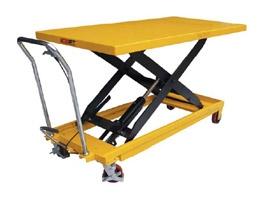 Тележка-стол с гидравлическим приводом подъема TG 100. Грузоподъемность 1000 кг. Максимальная высота подъема 1400 мм. Размер платформы 2035х750 мм