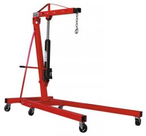 Гидравлический передвижной кран NDJ20. Грузоподъемность 2000 кг. Предназначен для подъема, вывешивания и перемещения грузов.