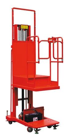 Сборщик заказов DYT2/2.7 предназначен для работы по комплектации заказов и подготовке их к отгрузке. Используется на складах и в торговых залах с многоярусным расположением товаров на полках и стеллажах.