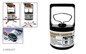 Магнитный сборщик-искатель настольный с функцией сброса.  Функция сброса обеспечивает сбор деталей  без контакта с руками человека, что исключает возможный травматизм.